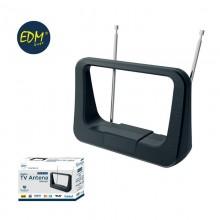 ANTENA UHF INTERIOR TV EDM 470-862 MHZ CLASSIC SERIES 170X120X60MM