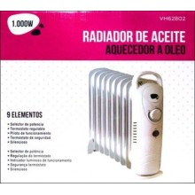 RADIADOR ELECTRICO DE 09 ELEMENTOS 100