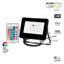 FOCO PROYECTOR LED RGB 10W 806 LUMEN LUMECO