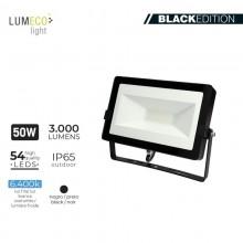 "FOCO PROYECTOR LED 50W 6400K 3000 LUMEN ""BLACK EDITION"" LUMECO"