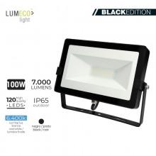 "FOCO PROYECTOR LED 100W 6400K 7000 LUMEN ""BLACK EDITION"" LUMECO"