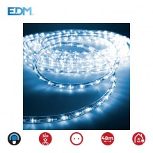 TUBOFLEXILED LED 2 VIAS MULTIFUNCION 36LEDS/MTS AZUL (IP44 INTERIOR-EXTERIOR) EDM. EURO/MTS