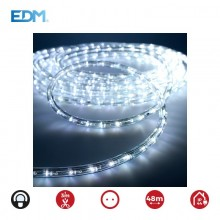 TUBO FLEXILED LED 2 VIAS MULTIFUNCION 36LEDS/MTS BLANCO FRIO (IP44 INTERIOR-EXTERIOR) EDM. EURO/MTS