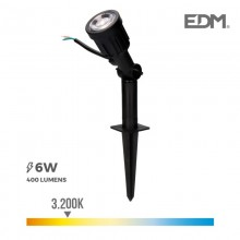 ESTACA JARDIN LED IP64 6W 3.200K 38º EDM