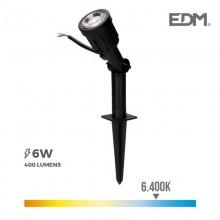 ESTACA JARDIN LED IP64 6W 6.400K 38º EDM