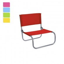 SILLA PLEGABLE DE PLAYA (COLORES SURTIDOS)