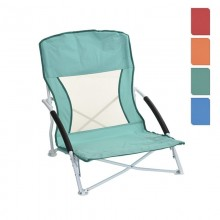 SILLA PLEGABLE METALICA PLAYA COLORES SURTIDOS