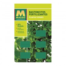 BASTONCITOS FERTILIZANTES PLANTAS VERDES 45GR