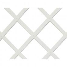 TRELLIFLEX CELOSIA DE PLASTICO 0,5X1,5MTS BLANCA 22X6MM