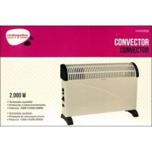 CONVECTOR ELECTRICO SUELO 2000W TURBO TÉRMICO VIVAH