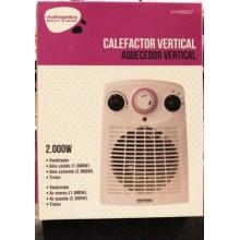 CALEFACTOR ELECTRICO VERTICAL 1000/2000W TÉRMICO VIVAH