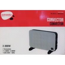 CONVECTOR ELECTRICO SUELO 1200/2000W TÉRMICO VIVAH