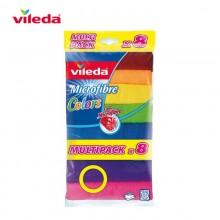 BAYETA MICROFIBRA COLORS 8 151501 VILEDA