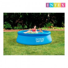 PISCINA EASY SET 244X76 CM 2.419 LITROS C/DEPURADORA 1250L/H INTEX 28112NP