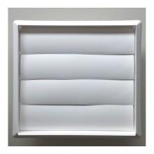 REJILLA PVC EMPOTRAR TUBO Ø 120 CON LAMAS MOVILES (G)