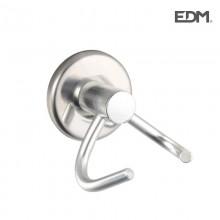 PERCHA DOBLE - CROMADA - (ENVASADO) - EDM