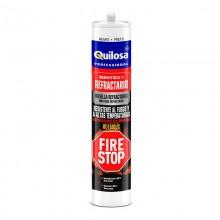 SINTEX REFRACTARIO FIRE STOP NEGRO 300ML QUILOSA