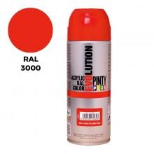 SPRAY RAL 3000 ROJO VIVO 400ML.