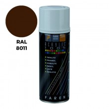 SPRAY RAL 8011 PARDO NUEZ 400ML.