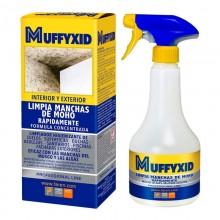 MUFFYCID BOX 500ML ELIMINADOR MOHO DESINFECTANTE CON CLORO ACTIVO