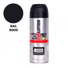 RAL 9005 NEGRO OPACO 400ML
