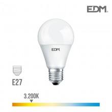 BOMBILLA STANDARD LED E27 17W 1800 LM 3200K LUZ CALIDA EDM
