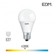BOMBILLA STANDARD LED E27 17W 1800 LM 4000K LUZ DIA EDM