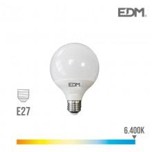 BOMBILLA GLOBO LED Ø 95 MM E27 10W 810 LM 6400K LUZ FRIA EDM