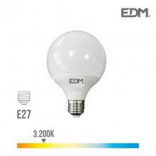 BOMBILLA GLOBO LED Ø 125 MM E27 15W 1521 LM 3200K LUZ CALIDA EDM