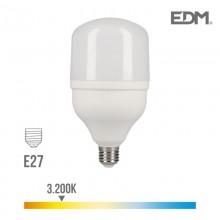 BOMBILLA INDUSTRIAL LED E27 40W 3200 LM 3200K LUZ CALIDA EDM