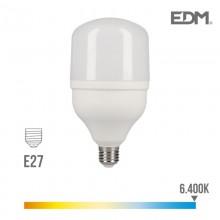BOMBILLA INDUSTRIAL LED E27 40W 3200 LM 6400K LUZ FRIA EDM