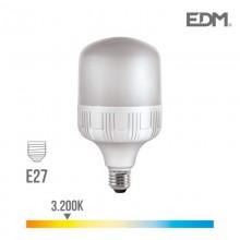 *ULT.UNIDADES*BOMBILLA INDUSTRIAL LED E27 40W 3200 LM 3200K LUZ CALIDA EDM