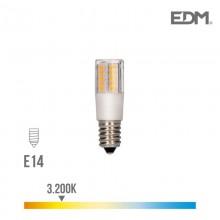 BOMBILLA PEBETERO LED E14 5,5W 650 LM 3200K LUZ CALIDA EDM