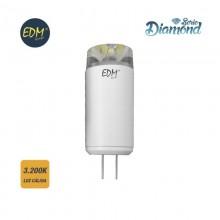 *ULT.UNIDADES*BOMBILLA BI-PIN LED G4 12V 3,5W 320 LM 3200K LUZ CALIDA SERIE DIAMOND EDM