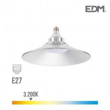BOMBILLA LUMINARIA LED E27 20W 1700 LM 3200K LUZ CALIDA Ø 25 CM EDM