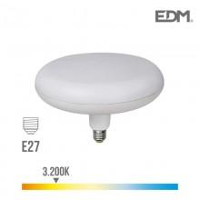 BOMBILLA LUMINARIA LED E27 18W 1400 LM 3200K LUZ CALIDA Ø 22 CM EDM